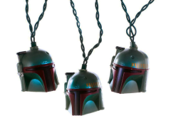 Star Wars Boba Fett Helmet Light Set - Ships to USA Only