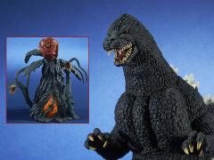 Godzilla Toho 30cm Series Godzilla (Light Emission Ver.) With Biollante (First Form) Exclusive