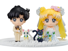 Sailor Moon Petit Chara Figure Set (Happy Wedding)