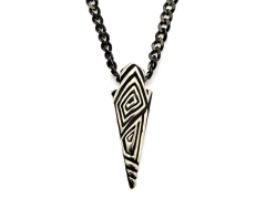 Marvel Black Panther Etched Claw Pendant Necklace