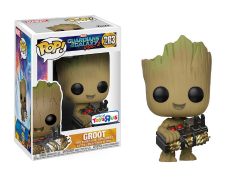 Pop! Marvel: Guardians of the Galaxy Vol. 2 Groot (Holding Bomb) Exclusive