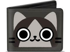 Monster Hunter Merarou (Gray) Bi-Fold Wallet