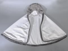 Faux Fur Cloak (White) 1/6 Scale Accessory
