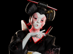 Ghost in the Shell Geisha 1/4 Scale Mixed-Media Statue