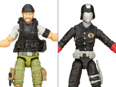 G.I. Joe 50th Anniversary Hunt For Cobra Commander Versus Two Pack
