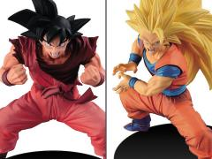 Dragon Ball Son Goku FES!! Stage 3 Super Saiyan 3 Goku & Kaio-ken Goku Set