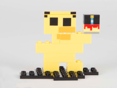 Five Nights At Freddy's 8-Bit Buildable Figure - Chica #12043