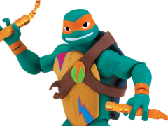 Rise of The TMNT Basic Michelangelo Figure