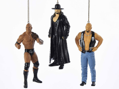 WWE Superstar Ornaments Set of 3