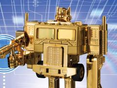 Transformers 35th Anniversary Optimus Prime Golden Trophy
