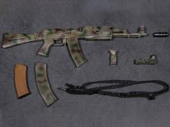 1/6 Scale Damtoys Elite Firearms Series 2 AK-74M Set (Camo)