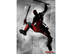 Marvel Dark Edition Deadpool Displate Metal Print