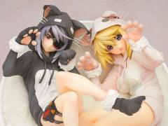 Laura & Charlotte 1/7 Scale Nekomimi Pajamas Figure Set