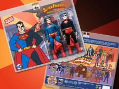 "Super Friends World's Greatest Heroes Superman (Universe of Evil) 8"" Retro Figure Two Pack"