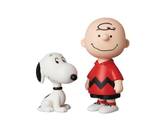 Peanuts Ultra Detail Figure No.489 Charlie Brown & Snoopy