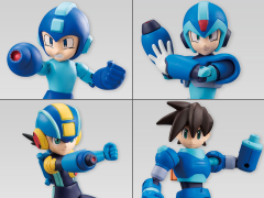 Mega Man 66Action Box of 10 Trading Figures