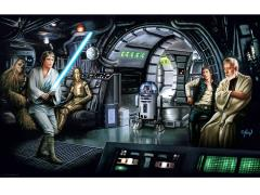 Star Wars Luke Feels the Force Limited Edition Lithograph