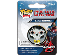 Pop! Pins: Civil War - Crossbones