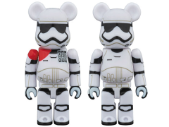 Star Wars Bearbrick First Order Stormtrooper Officer & First Order Stormtrooper Two Pack