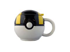 Pokemon Ultra Ball Molded Mug with Lid