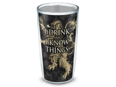 Game of Thrones House Lannister 16 oz Tumbler