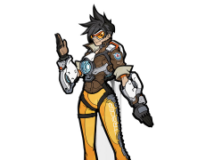 Overwatch FigPin Tracer