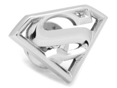DC Comics Superman Logo Stainless Steel Lapel Pin