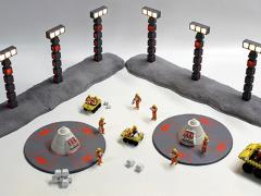 Space: 1999 Nuclear Waste Disposal Area 2 1/48 Scale Model Kit