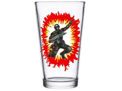 G.I. Joe Snake Eyes Pint Glass