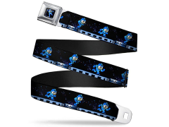 Mega Man 8-Bit Mega Man (Running) SeatBelt Buckle Belt