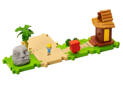 World of Nintendo Micro Land Deluxe Pack - The Legend of Zelda: The Wind Waker Outset Island