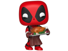 Pop! Marvel: Holiday - Deadpool With Turkey