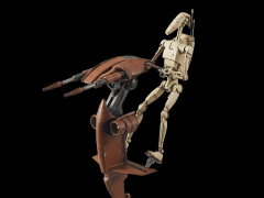 Star Wars Battle Droid & Stap 1/12 Scale Model Kit