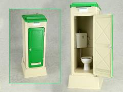 Mabell Original Miniature Model Series 1/12 Scale Portable Toilet (Western Style: TU-R1W)