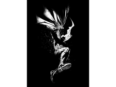 DC Dark Edition Batman Displate Metal Print