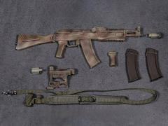 1/6 Scale Damtoys Elite Firearms Series 2 AK-105 Set (Camo)