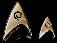 Star Trek: Discovery Enterprise Operations Badge & Pin Set
