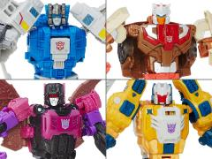 Transformers Titans Return Deluxe Wave 2 Set of 4 Figures
