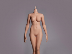 Hot Stuff 1/6 Scale Female Middle Body 3rd Generation (Tan Cone Joint)