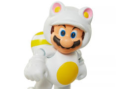 "World of Nintendo 4"" Figure Series 06 - White Tanooki Mario"