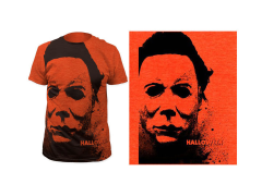 Halloween Splatter Mask T-Shirt
