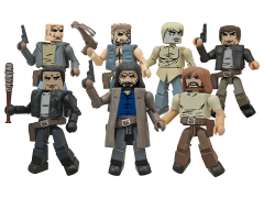 The Walking Dead Minimates Series 7 Two Pack Set of 4