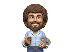 The Joy of Painting Bob Ross Body Knocker