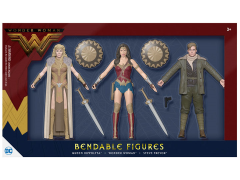 Wonder Woman Bendable Figure Three Pack