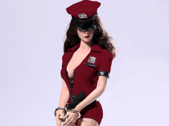 1/6 Scale Cosplay Police Woman Set - Red
