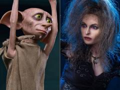 Harry Potter and the Half-Blood Prince Bellatrix Lastrange With Dobby 1/6 Scale Figure Two-Pack
