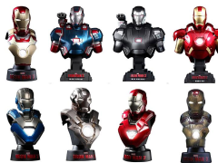 Iron Man 3 HTB14-20 1/6th Scale Collectible Bust Deluxe Set (Case) + $225 BBTS Store Credit Bonus