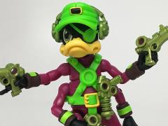 Bucky O'Hare Corsair Canard Dead-Eye Duck Early Launch Exclusive With Lunchbox