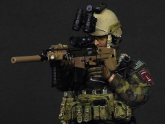 1/6 Scale SFG Veteran with Prosthetic Limb - Dragoon