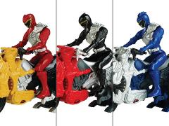 Power Rangers Dino Charge Dino Cycle & Figure Series 2 Set of 3